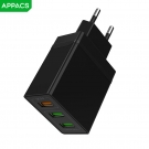 China APPACS A11 US/EU QC3.0  Charger USB Adapter Travel Wall Charger for Huawei factory