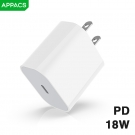 China APPACS A21PD  Universal Portable QC3.0 travel charger Fast wall Charger factory